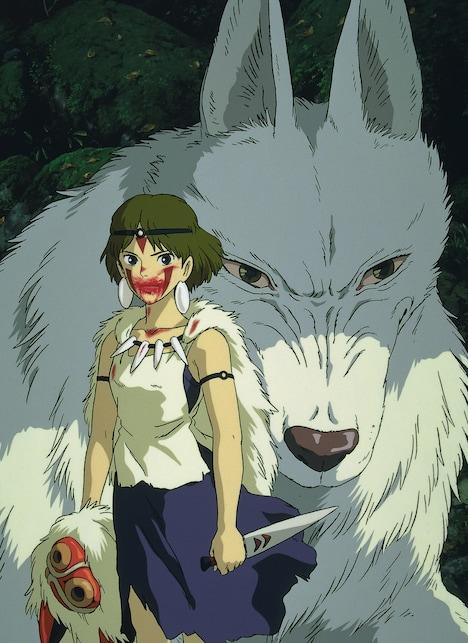 「もののけ姫」ビジュアル (c) 1997 Studio Ghibli・ND