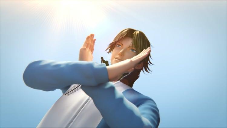 「リョーマ! The Prince of Tennis 新生劇場版テニスの王子様」本予告映像より。