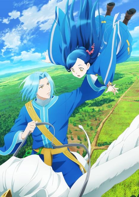 TVアニメ「本好きの下剋上 司書になるためには手段を選んでいられません」ティザービジュアル