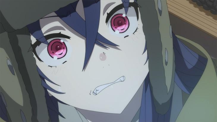 TVアニメ「月とライカと吸血姫」第1話の場面カット。