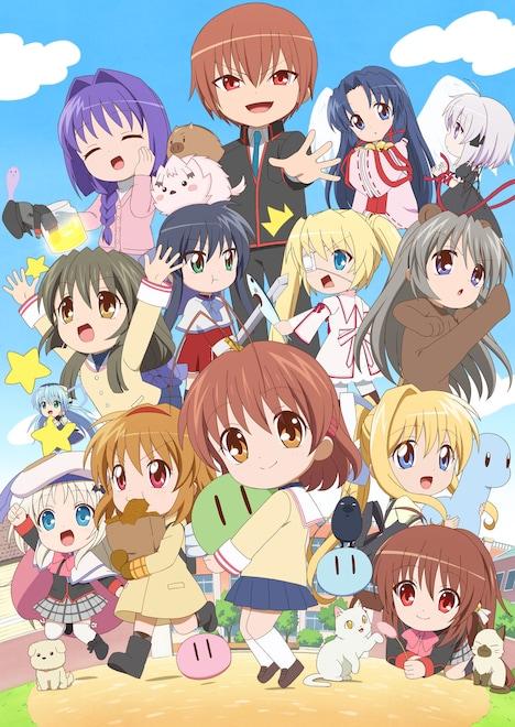 TVアニメ「かぎなど」ビジュアル (c)VISUAL ARTS/Key/KAGINADO