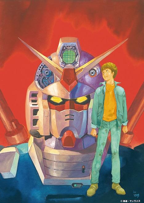 「安彦良和/機動戦士ガンダム THE ORIGIN展」ティザービジュアル