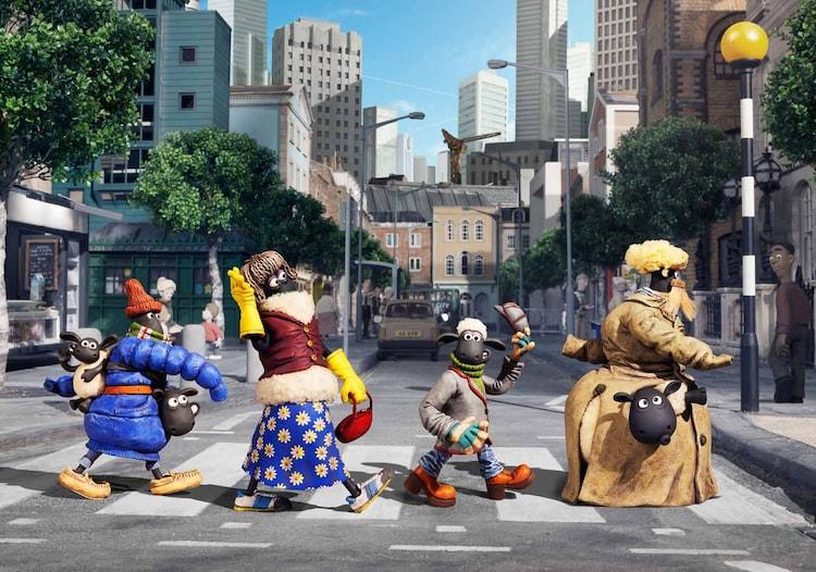 気分はビートルズ。(c) 2014 Aardman Animations Limited and Studiocanal S.A.