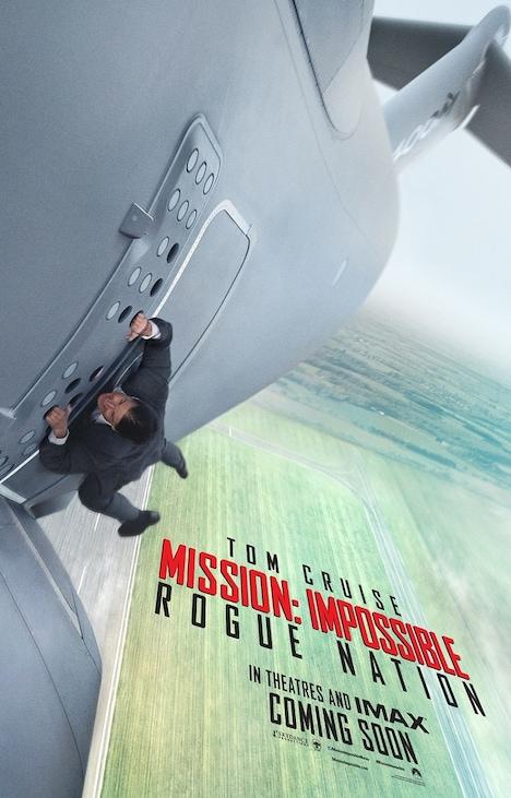 「ミッション:インポッシブル/ローグ・ネイション」ポスタービジュアル (c)2015 Paramount Pictures. All Rights Reserved.
