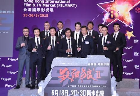 「SPL2 殺破狼II(原題)」会見の様子。(写真提供:香港FILMART)
