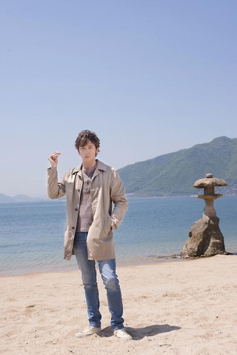 主演の玉木宏。(c)映画「星籠の海」製作委員会
