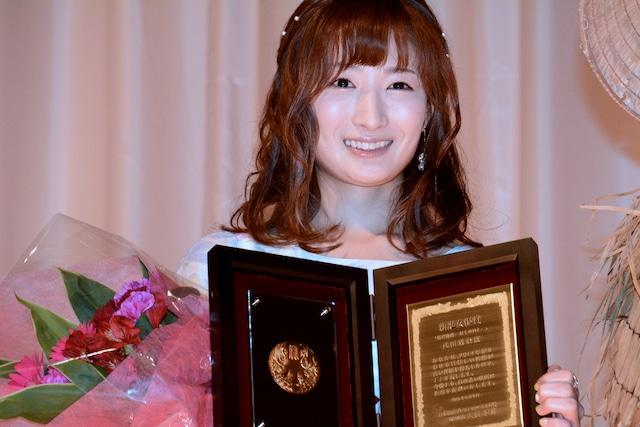 新進女優賞の武田梨奈。