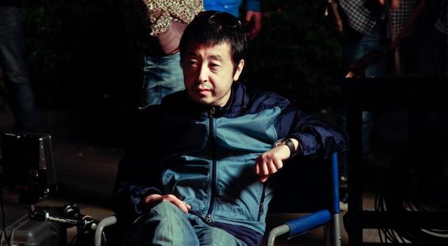 「山河故人(原題)」撮影中のジャ・ジャンクー。