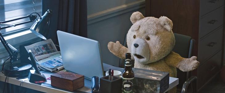 「テッド2」のワンシーン。(c)Universal Pictures
