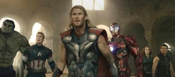 「アベンジャーズ/エイジ・オブ・ウルトロン」 (c)Marvel 2015