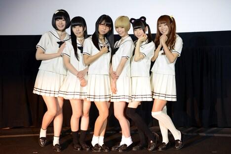 「白魔女学園 オワリトハジマリ」公開前夜祭イベントの様子。