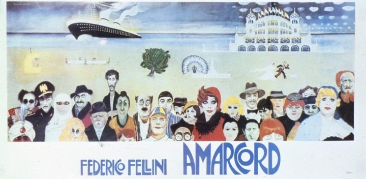 フェデリコ・フェリーニ「アマルコルド」ビジュアル