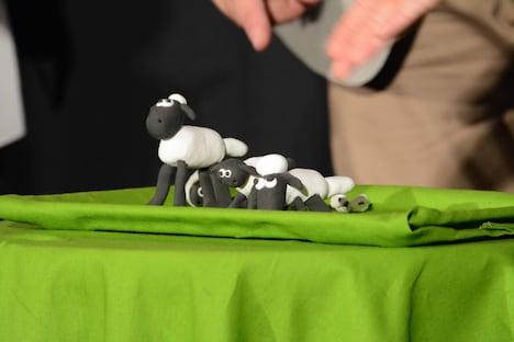 木村が2人の子供と一緒に作った粘土製のショーン。