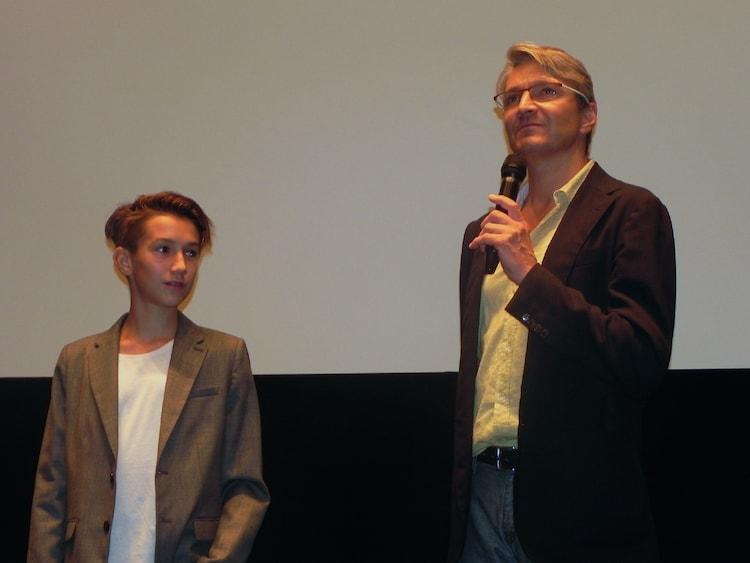 左からオンジェイ・スヴェラーク、ヤン・スヴェラーク。