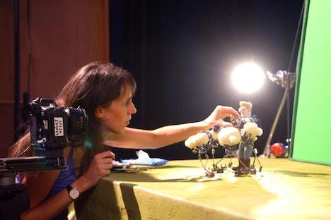 「映画 ひつじのショーン~バック・トゥ・ザ・ホーム~」メイキング写真 (c)2014 Aardman Animations Limited and Studiocanal S.A.