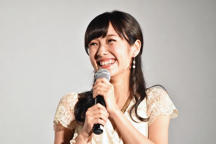 ホラー映画が大好きだという前田希美。
