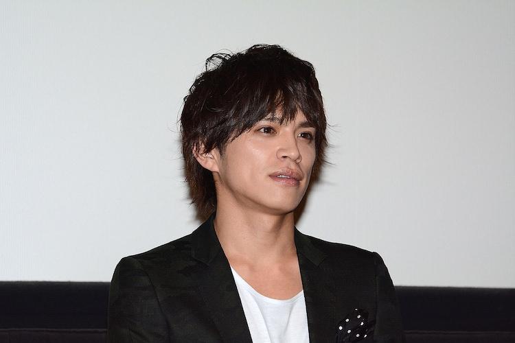 2015年7月27日に行われた「東京PRウーマン」完成披露での山本裕典。