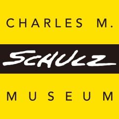 チャールズ・M・シュルツ美術館のロゴ。