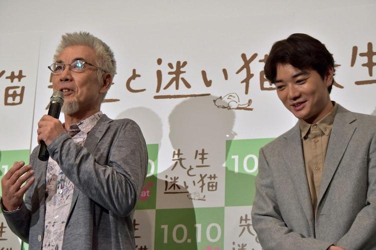 撮影中、染谷将太にペースを乱されたと話すイッセー尾形。