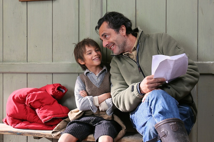 「ベル&セバスチャン」メイキング写真 (c)2013 RADAR FILMS EPITHETE FILMS GAUMONT M6 FILMS ROHNE-ALPES CINEMA