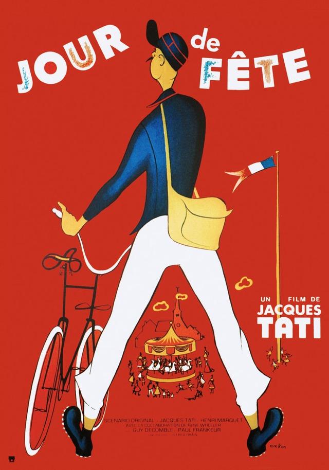 ピエール・エテックスが手がけた、「のんき大将・脱線の巻」のポスター。