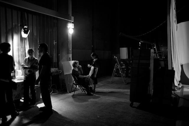 「バードピープル」メイキング (c)Archipel 35 - France 2 Cinéma - Titre et Structure Production