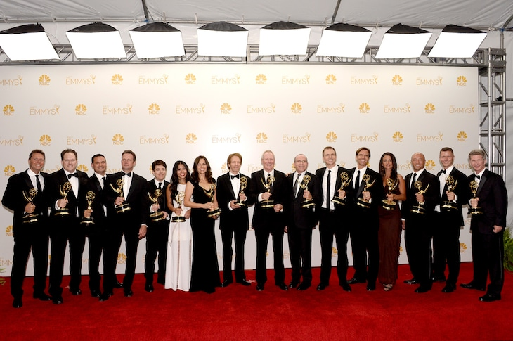 第66回エミー賞授賞式の様子。Images courtesy of the Television Academy.  Vince Bucci/Invision(c) Television Academy