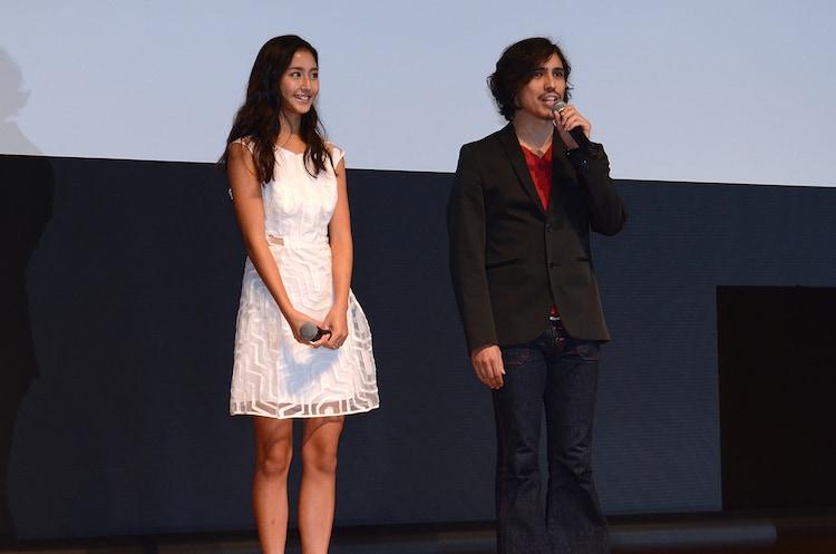 本年度のフェスティバル・ナビゲーターを務める季葉(左)と野村雅夫(右)も登壇。