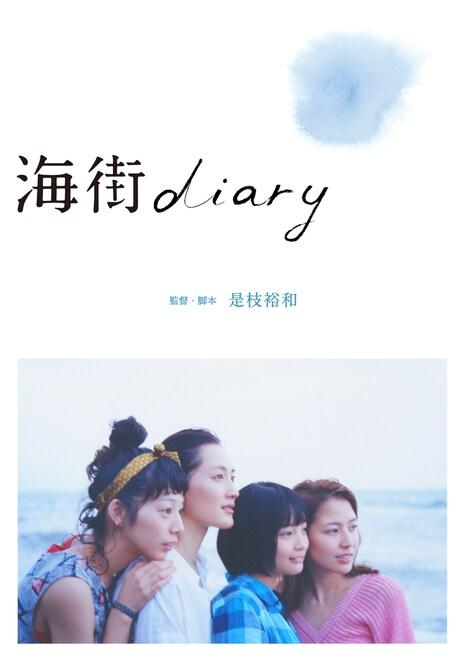「海街diary」Blu-ray / DVD スタンダード・エディション ジャケット (c)2015吉田秋生・小学館/フジテレビジョン 小学館 東宝 ギャガ