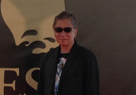 第48回シッチェス・カタロニア国際映画祭での三池崇史。(c)2015「極道大戦争」製作委員会