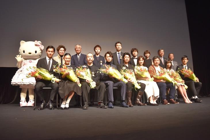 第7回TAMA映画賞授賞式の様子。