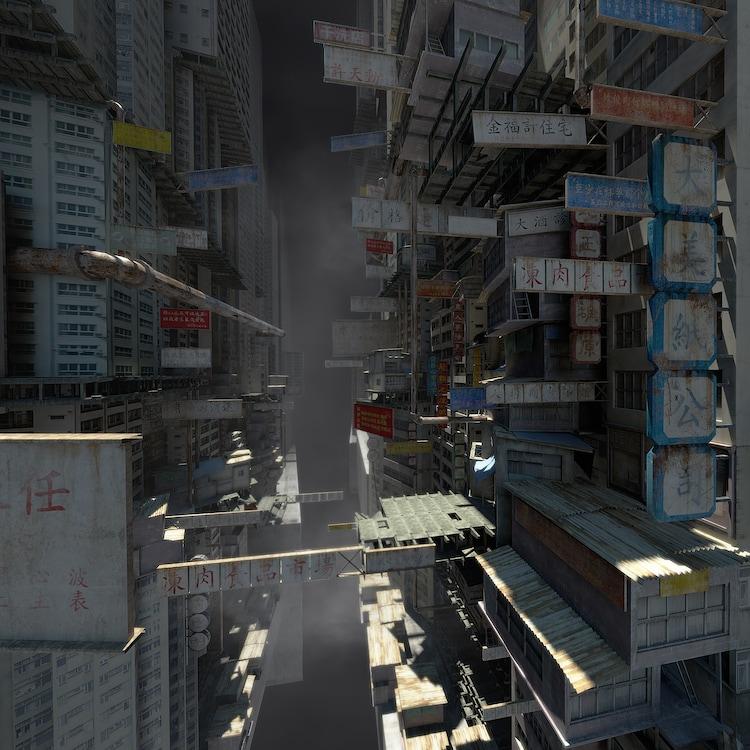 「攻殻機動隊 新劇場版 Virtual Reality Diver」舞台 (c)士郎正宗・Production I.G/講談社・「攻殻機動隊 新劇場版」製作委員会