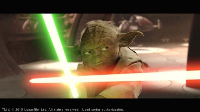 「スター・ウォーズ エピソード2/クローンの攻撃」 TM & (c)2015 Lucasfilm Ltd. All rights reserved. Used under authorization.