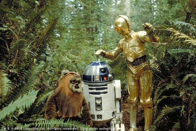 「スター・ウォーズ エピソード6/ジェダイの帰還」 TM & (c)2015 Lucasfilm Ltd. All rights reserved. Used under authorization.