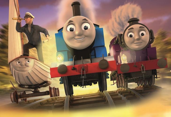 「映画 きかんしゃトーマス 探せ!! 謎の海賊船と失われた宝物」 (c) 2015 Gullane (Thomas) Limited.