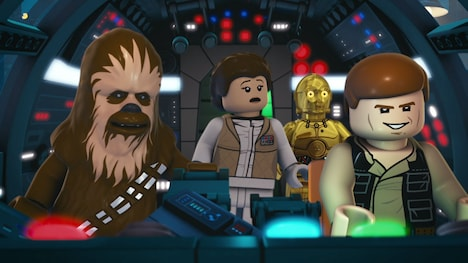 「LEGO スター・ウォーズ:ドロイド・テイルズ」 LEGO, the LEGO logo & the Minifigure are trademarks of The LEGO Group (c) 2015 The LEGO Group