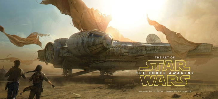 「アート・オブ・スター・ウォーズ/フォースの覚醒」より。(c)& TM 2015 Lucasfilm Ltd.