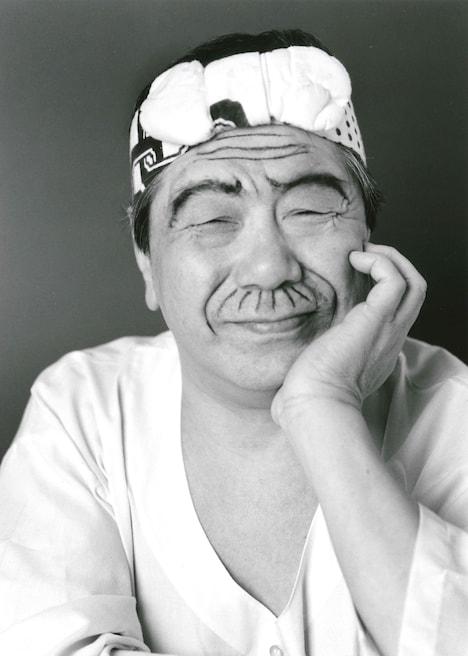 赤塚不二夫(撮影:荒木経惟)
