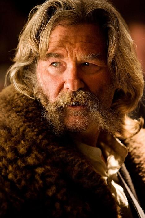 カート・ラッセル演じるジョン・ルース。