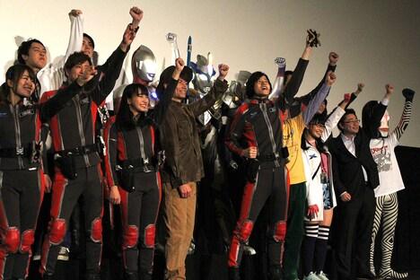 「『劇場版 ウルトラマンX』公開記念 ウルトラ上映祭」の様子。