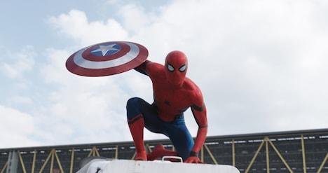 「シビル・ウォー/キャプテン・アメリカ」に登場する新生スパイダーマン。(c)2016 Marvel.