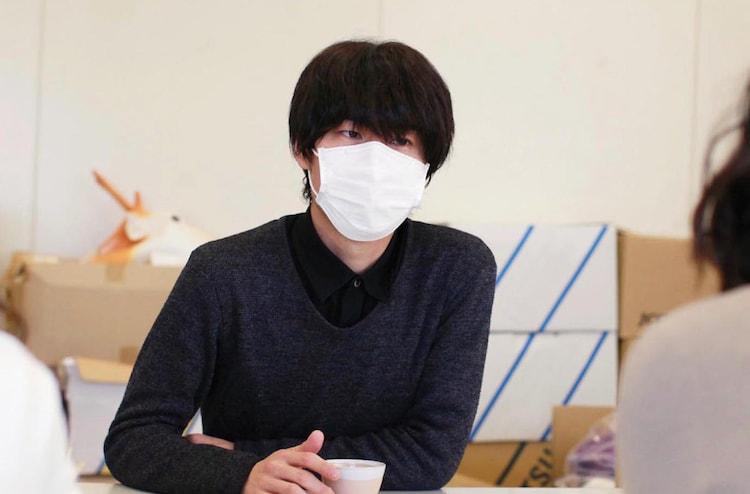 ドラマの題材となったマンガ「その『おこだわり』、俺にもくれよ!!」の作者・清野とおる。