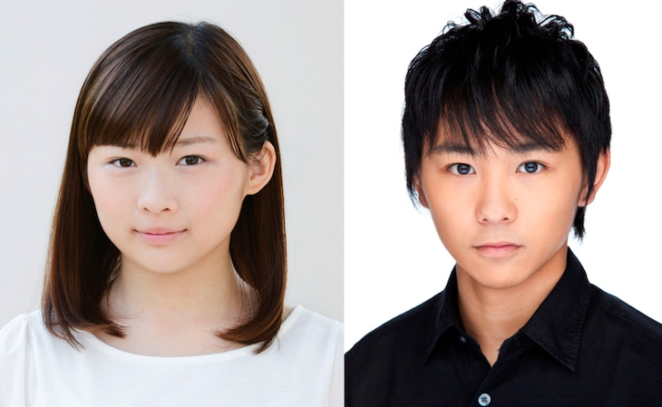 「獣道」キャストの伊藤沙莉(左)、須賀健太(右)。