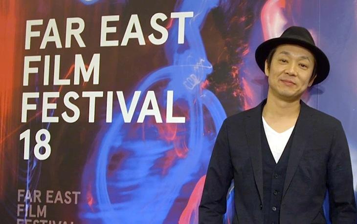 第18回ウーディネ・ファーイースト映画祭に出席した吉田恵輔。