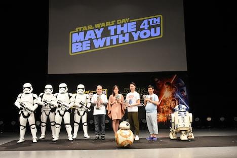 """""""MAY THE 4TH""""STAR WARS DAY スペシャルイベントの様子。"""