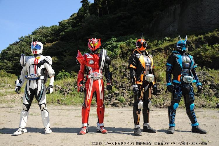 仮面ライダーゴースト&ドライブ「超MOVIE大戦」と「超英雄祭」の ...