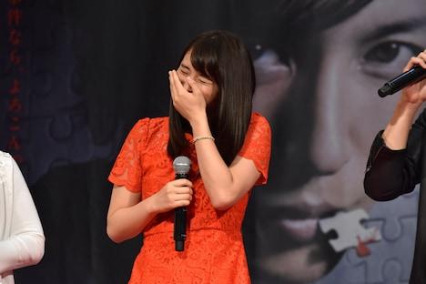 玉木宏に「(御手洗潔に)まったく魅力を感じないんです!」と言っていたことを暴露され、笑う広瀬アリス。