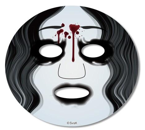 「貞子vs伽椰子 なりきりフェイスパック」(伽椰子)