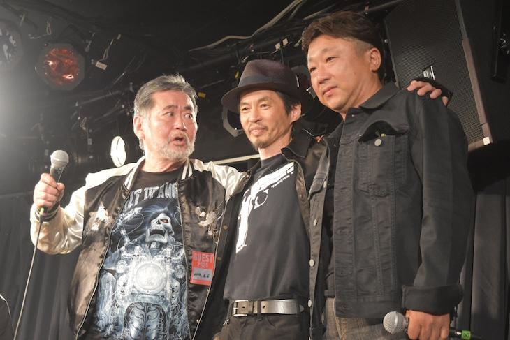 左から飯島洋一、石井岳龍、大森直人。