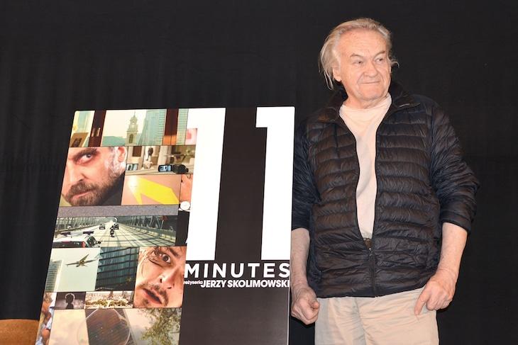 「イレブン・ミニッツ」公開記念イベントに登壇したイエジー・スコリモフスキ。